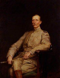 Sir George Dashwood Taubman Goldie   Hubert von Herkomer   Oil Painting