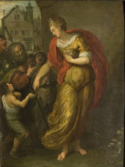Allegory of Generosity | Frans Francken the Younger | Oil Painting