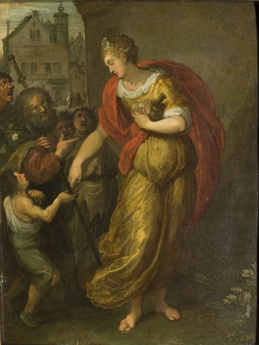 Allegory of Generosity   Frans Francken the Younger   Oil Painting