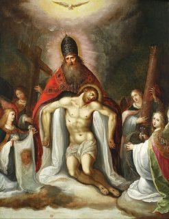 Holy Trinity | Franz Francken the Elder | Oil Painting