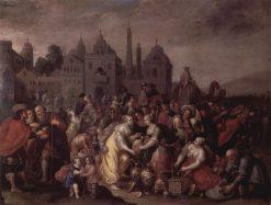 The Golden Vases of the Egyptians | Franz Francken the Elder | Oil Painting