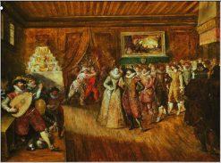 The Wedding Dance | Franz Francken the Elder | Oil Painting