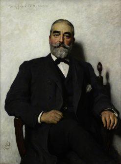 Sir Francis Burnand   Hubert von Herkomer   Oil Painting
