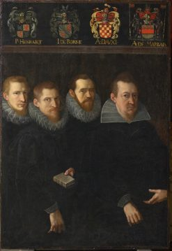 Four Aldermen of Namur | Franz Francken the Elder | Oil Painting