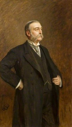 Sir George Carlyon Hughes Armstrong | Hubert von Herkomer | Oil Painting