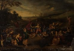 An Allegory | Franz Francken the Elder | Oil Painting