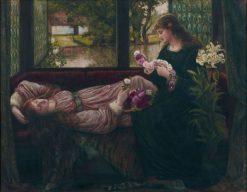 A Wreath of Roses | Marie Spartali Stillman | Oil Painting