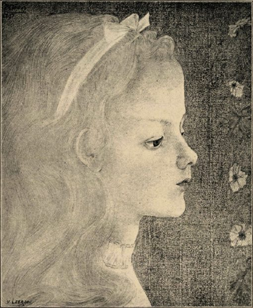 Head of a Child | Jan Toorop | Oil Painting