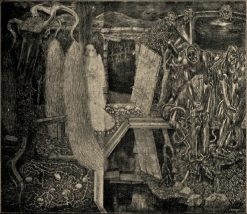 Old garden of labour | Jan Toorop | Oil Painting