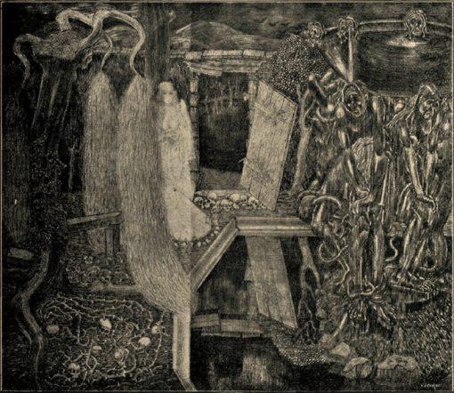 Old garden of labour | Jan Toorop | Oil Painting