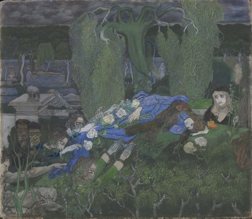 The Vagabonds | Jan Toorop | Oil Painting