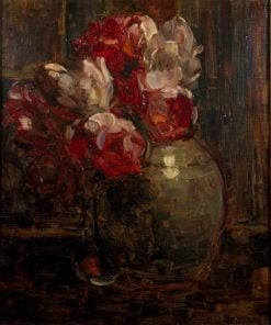Ginger jar with tulips | Floris Verster | Oil Painting