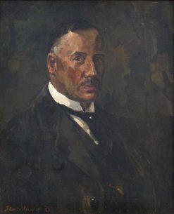 Portrait of George Willem van Heukelom | Floris Verster | Oil Painting
