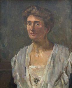 Portrait of Henriëtte van Heukelom-van den Brandeler | Floris Verster | Oil Painting