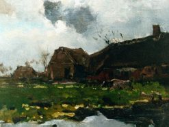 The Farm | Floris Verster | Oil Painting