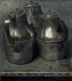 Tin Jugs | Floris Verster | Oil Painting