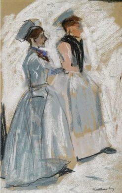 Amsterdam Servant Girls | George Hendrik Breitner | Oil Painting