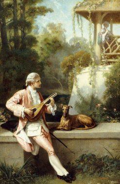 The Courtship | Felix-Henri Giacomotti | Oil Painting