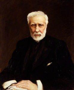 Sir George Grey   Hubert von Herkomer   Oil Painting