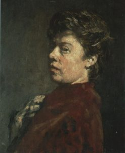 Self Portrait | Suze Robertson | Oil Painting