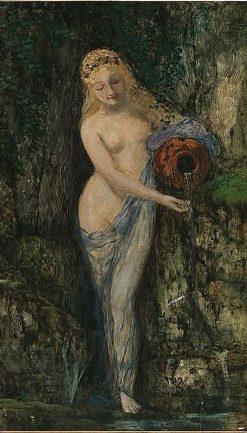 Nymph | Sigmund Landsinger | Oil Painting