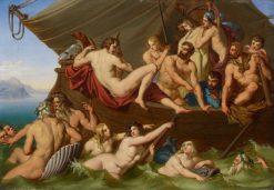 Orpheus und die Argonauten | Joseph Robert von Langer | Oil Painting