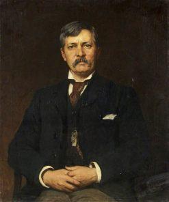 Sir Henry Stanley   Hubert von Herkomer   Oil Painting