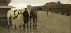 Bridge in the Hague | Willem de Zwart | Oil Painting