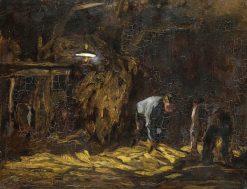 In the Barn | Willem de Zwart | Oil Painting