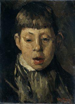 Head of a Boy | Willem de Zwart | Oil Painting