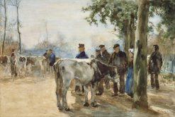 The Cattle Market | Willem de Zwart | Oil Painting