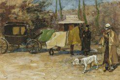 Carriage in a Park | Willem de Zwart | Oil Painting