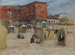 Beach in Scheveningen | Willem de Zwart | Oil Painting