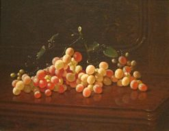 Still Life with Grapes | Edward Edmondson | Oil Painting