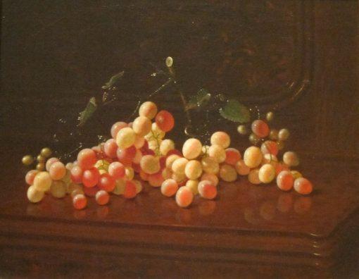Still Life with Grapes | Edward Edmondson | Oil Painting