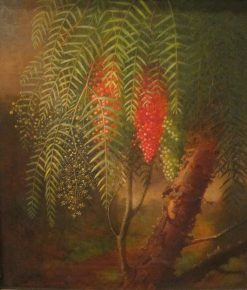 California Pepper Tree | Edward Edmondson | Oil Painting