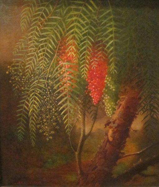 California Pepper Tree | Edward Edmondson | Oil Painting