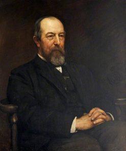 Sir John Edward Dorington   Hubert von Herkomer   Oil Painting
