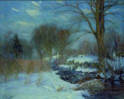 Winter Landscape | Hal Robinson | Oil Painting