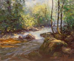 The Shimmering Stream | Hal Robinson | Oil Painting