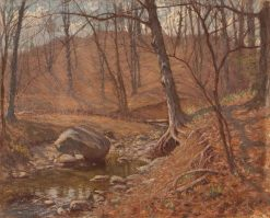 Autumn Stream | Hal Robinson | Oil Painting