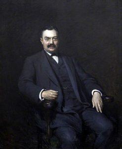 Sir Marcus Samuel   Hubert von Herkomer   Oil Painting