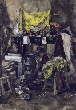 Corner of the artists studio | Suze Robertson | Oil Painting