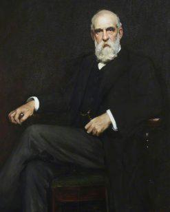Sir John Tomlinson Brunner   Hubert von Herkomer   Oil Painting