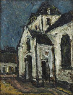 Batenburg church | Suze Robertson | Oil Painting