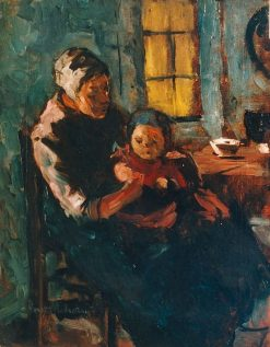Mother and Child | Suze Robertson | Oil Painting