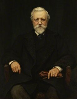 Sir Richard Horner Paget   Hubert von Herkomer   Oil Painting