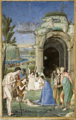 The Adoration of the Shepherds | Francesco Marmitta | Oil Painting