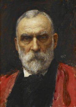 Sir William Markby   Hubert von Herkomer   Oil Painting