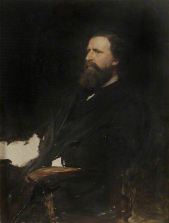 Study of Alexander Macdonald | Hubert von Herkomer | Oil Painting